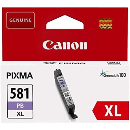 Cartouche Canon CLI-581PB XL bleu photo 8.3mL CARTCLI581XL-PB - 1
