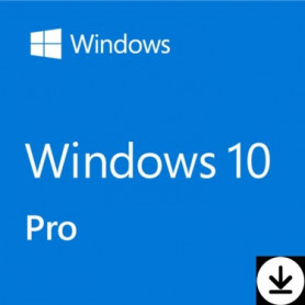 Microsoft Windows 10 Professionnel 64 Bits OEM 1 PC (ESD)