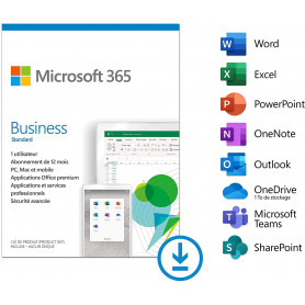 Microsoft 365 Business Standard 1 Personne (ESD) Abonnement 1 an OFF365_BUSSTD-ESD - 1