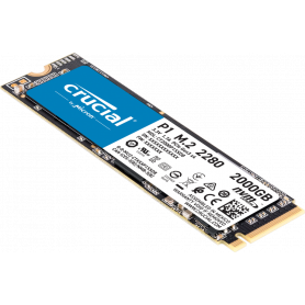 SSD 2To Crucial P1 M.2 NVMe PCIe Type 2280 2000Mo/s 1700Mo/s