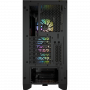 Boitier Corsair iCUE 4000X RGB Tempered Noir ATX USB 3.1 Type C BTCO4000X-RGB-BK - 4