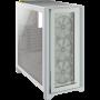 Boitier Corsair iCUE 4000X RGB Tempered Blanc ATX USB 3.1 Type C BTCO4000X-RGB-WH - 2