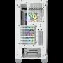 Boitier Corsair iCUE 4000X RGB Tempered Blanc ATX USB 3.1 Type C BTCO4000X-RGB-WH - 3