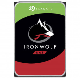 Disque Dur SATA 10To 256Mo Seagate IronWolf ST10000VN0008 DD10TOST10000VN008 - 1