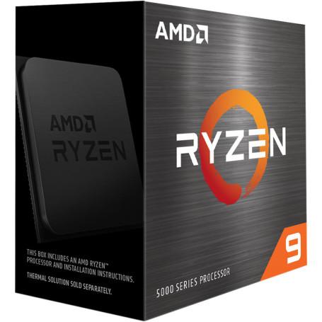 Processeur AMD RYZEN 9 5900X 3.7/4.8Ghz 70M 12Core 105W AM4