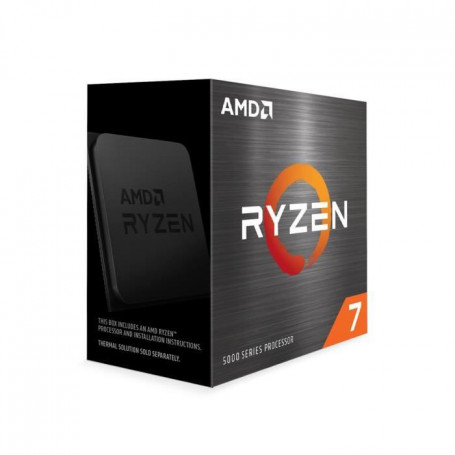 Processeur AMD RYZEN 7 5800X 3.8/4.7Ghz 36M 8Core 105W AM4