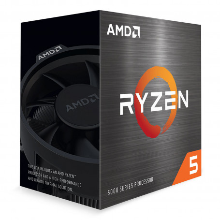 Processeur AMD RYZEN 5 5600X 3.7/4.6Ghz 35M 6Core 65W AM4