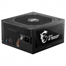 Alimentation MSI MPG A750GF 80+ Gold Full Modulaire 750 Watts