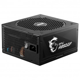 Alimentation MSI MPG A850GF 80+ Gold Full Modulaire 850 Watts
