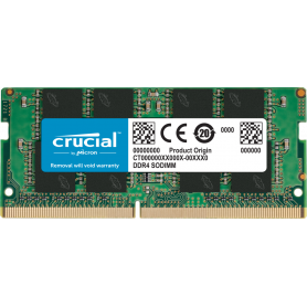 DDR4 Portable 16Go 2666 Mhz Crucial  CT16G4SFRA266 1.2V CL19