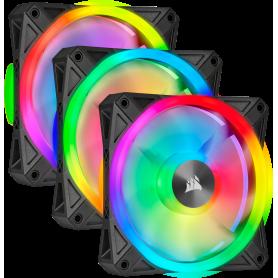 Ventilateur Corsair iCUE QL120 RGB Triple Pack 12cm