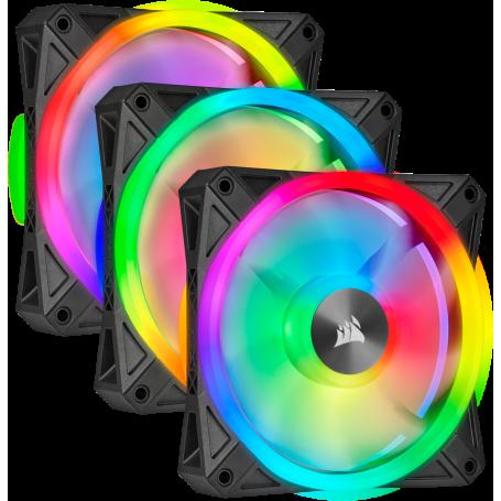 Ventilateur Corsair iCUE QL120 RGB Triple Pack 12cm VENCOSL120RGB-X3 - 1