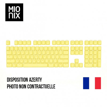Keycaps MIONIX French Fries Full Set FR CLMIMNX-05-27001FR - 3