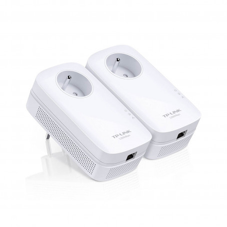 Pack 2x CPL TP-Link RJ45 1300Mbits Prise 220V TL-PA8015P KIT CPLTPTL-PA8015PKIT - 1