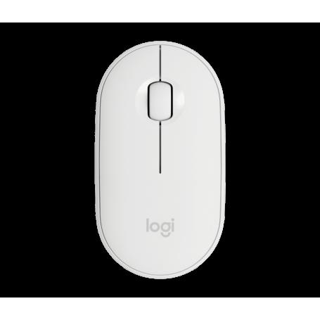 Souris Logitech Wireless Mouse Pebble M350 Blanc SOLOM350-BLANC - 1