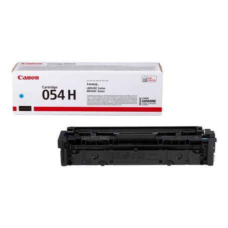 Toner Canon 054 H Cyan 2300 pages MF64X/LBP62X TONERCA054CYH - 1