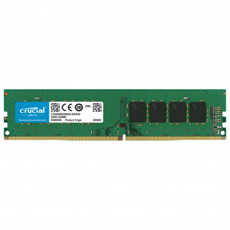 DDR4 8Go 3200Mhz Crucial CT8G4DFRA32A CL22 1.2V DDR4_08_C_28903549 - 1