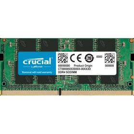 DDR4 Portable 8Go 2666 Mhz Crucial CT8G4SFRA266 1.2V CL19