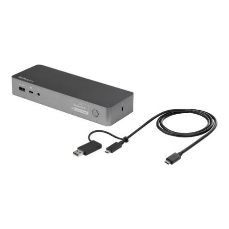 Station d'Accueil StarTech DK30C2DPPDUE USB Type-C/A Dual-4K DP/HDMI SAST-DK30C2DPPDUE - 2