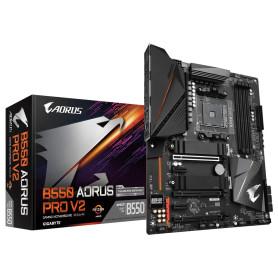 Carte Mère Gigabyte B550 AORUS PRO V2 ATX AM4 DDR4 USB3.2 M.2 HDMI