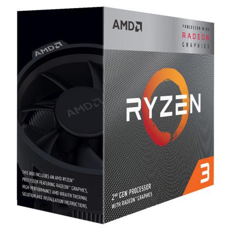 Processeur AMD RYZEN 3 PRO 4350G 3.8/4.0Ghz 4M 4Core 65W AM4