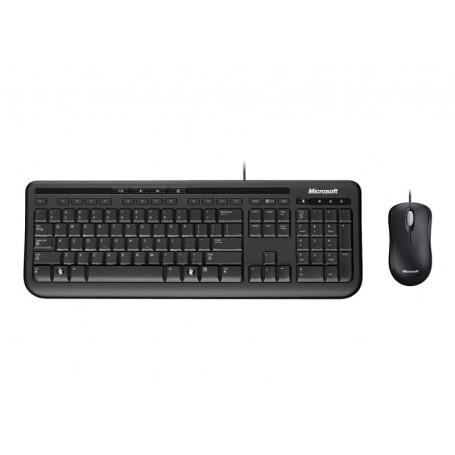 Pack Clavier Souris Microsoft Wired Desktop 600 CLSOMIWD600 - 1