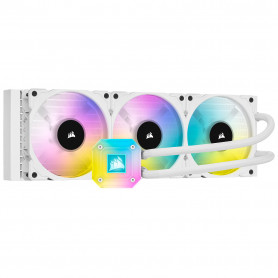 Kit WaterCooling Corsair iCUE H150i ELITE CAPELLIX Blanc 360mm