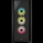 Boitier Corsair iCUE 5000X RGB Tempered Noir ATX USB 3.1 Type C BTCO5000X-RGB-BK - 2