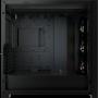 Boitier Corsair iCUE 5000X RGB Tempered Noir ATX USB 3.1 Type C BTCO5000X-RGB-BK - 4