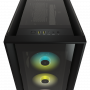 Boitier Corsair iCUE 5000X RGB Tempered Noir ATX USB 3.1 Type C BTCO5000X-RGB-BK - 6