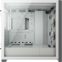 Boitier Corsair iCUE 5000X RGB Tempered Blanc ATX USB 3.1 Type C BTCO5000X-RGB-WH - 6