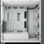 Boitier Corsair iCUE 5000X RGB Tempered Blanc ATX USB 3.1 Type C BTCO5000X-RGB-WH - 8