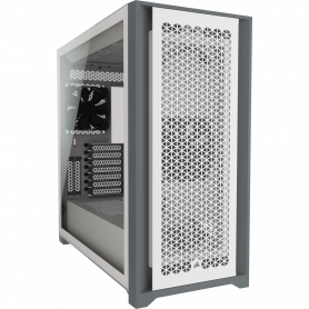 Boitier Corsair iCUE 5000D Airflow Tempered Blanc ATX USB 3.1 Type C