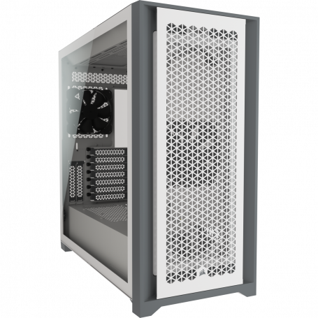 Boitier Corsair iCUE 5000D Airflow Tempered Blanc ATX USB 3.1 Type C