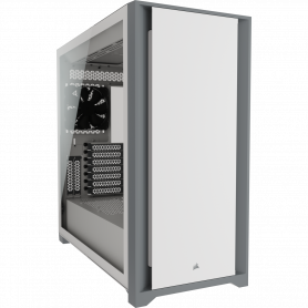 Boitier Corsair iCUE 5000D Tempered Blanc ATX USB 3.1 Type C BTCO5000D-WH - 2