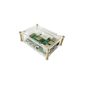 Boitier Raspberry Pi 4 B transparent