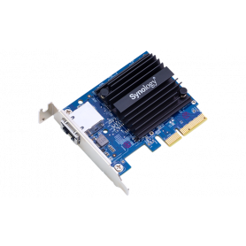 Carte PCIe3.0 x4 Synology E10G18-T1 RJ45 10Gb LP NASSYE10G18-T1 - 1
