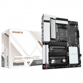 Carte Mère Gigabyte B550 VISION D ATX AM4 DDR4 USB3.2 M.2 WIFI
