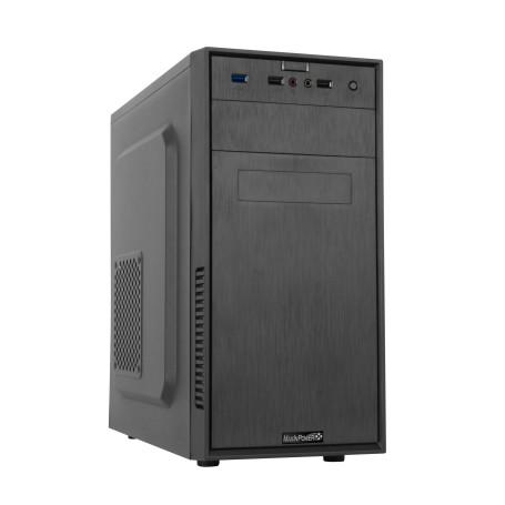 Boitier MaxInPower Black Dandy mATX Alim 480 Watts USB 3.0 BTMIPBM1082CA00 - 2