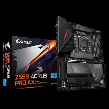 Carte Mère Gigabyte Z590 AORUS PRO AX ATX LGA1200 DDR4 USB3.2 Wifi AX CMGZ590-PRO-AX - 1