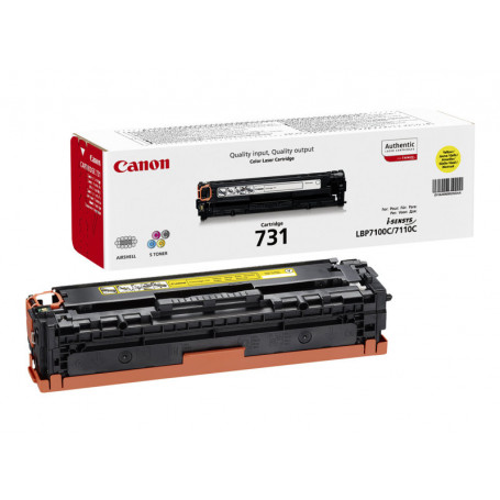 Toner Canon 731 Yellow 1500 pages 6680/8230/8280/7100/7110