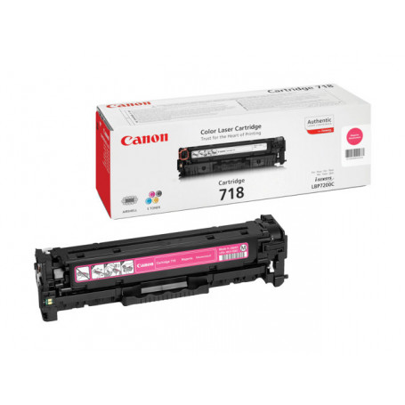 Toner Canon 718 Magenta 2900 pages 7200/7210/7660/7680/MF83**