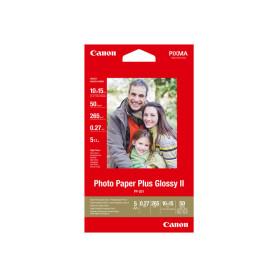 50 x Canon Photo Paper Plus Glossy II PP-201 10x15 102x152mm 265g/m2 RAMCAPP201-10X15 - 1