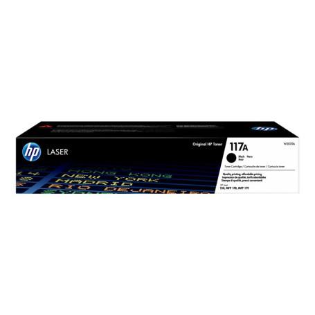 Toner HP 117A Noir W2070A 1000 pages TONERHP117ANOIR - 1