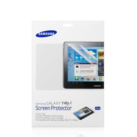 "2 x Films de Protection Samsung ETC-P1G2CE GalaxyTab 2 & Note 10.1"""