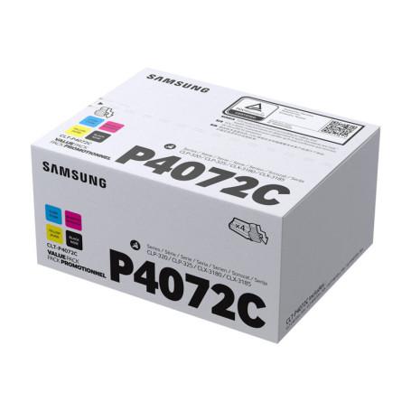 Toner Samsung CLT-P4072C Pack 3C 1000p + 1N 1500p 320 325 3185