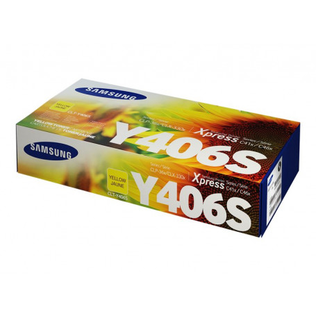 Toner Samsung CLT-Y406S Yellow 1000 Pages 360 365 368 3300 3305