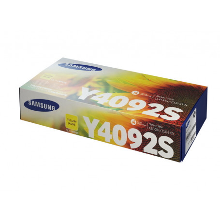 Toner Samsung CLT-Y4092S Yellow 1000 pages 310 315 3170 3175