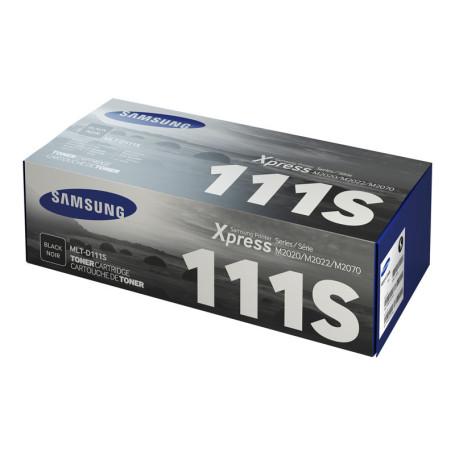 Toner Samsung MLT-D111S Noir 1000 Pages M2020/M2022/M2070