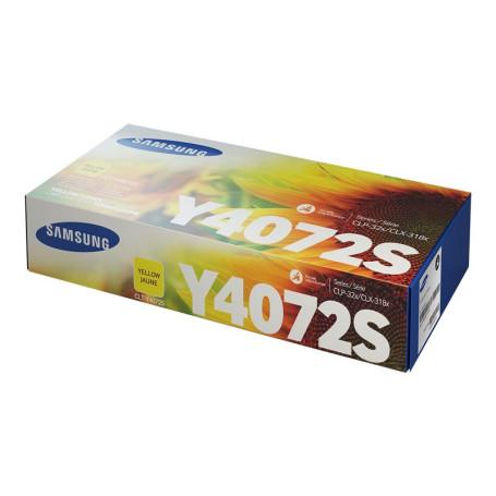 Toner Samsung CLT-Y4072S Yellow unité 1000 Pages 320 325 3185